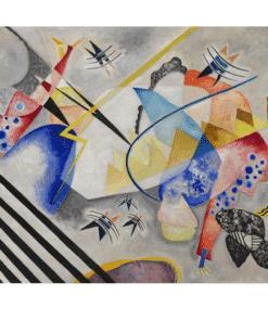 White Center by Wassily Kandinsky