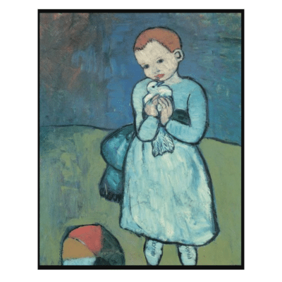 Child with a Dove 1901