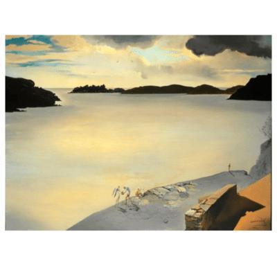 Landscape of Port Lligat 1950