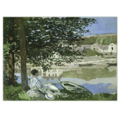 River Scene at Bennecourt 1868