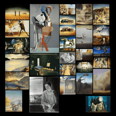 Paintings by Salvador Dalí