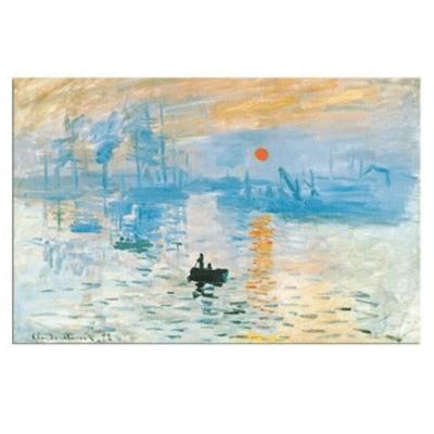 Sunrise by Claude Monet 1872