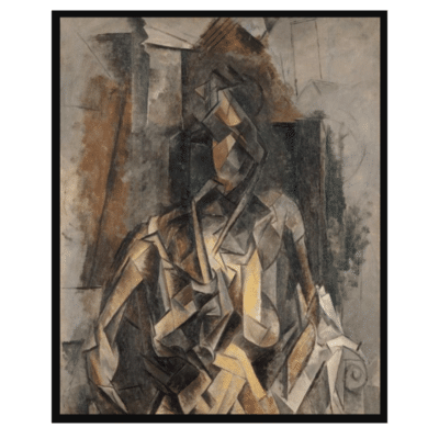 Woman Sitting in an Armchair (Mujer con Sillón) 1910