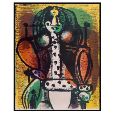 Woman in Armchair (Femme au Fauteuil) 1948