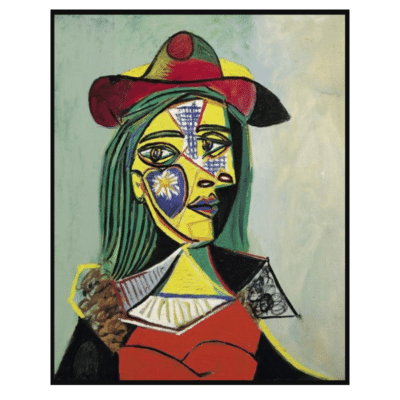 Woman in Hat and Fur Collar 1937 (Marie Therese Walter)